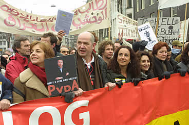 Demonstratie Irak