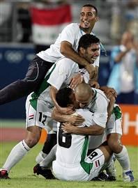 Irak wint van Portugal