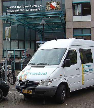 Utrecht mobiele fotostand