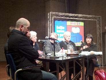Het panel in Almelo