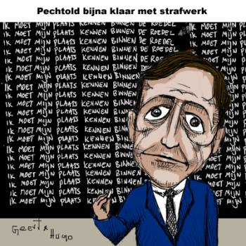Cartoon - Pechtold