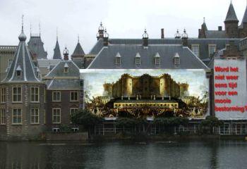 Het Binnenhof als de nieuwe Bastille.