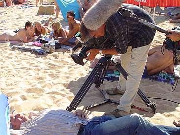Voor 'n filmpje...'Jan droomt over 'n luxe-leven inclusief golfen bij Sheritan.