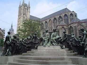 Monument gebroeders Van Eyck