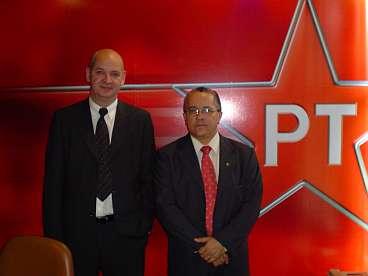 Josias Gomes, de PT-vertegenwoordiger in het parlement uit de deelstaat Bahia