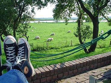 ...rust aan de Maas