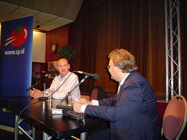Interview op de openbare avond in Meppel