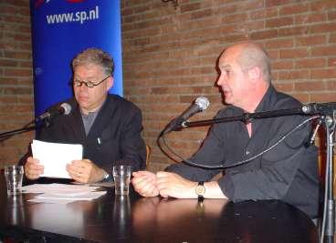 Interview door Hans Horsten in Oosterhout