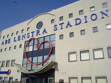 Op bezoek bij Foppe de Haan...(vergeten 'n foto te maken, dan maar het stadion)