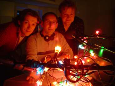 Vlnr Ruud Broekhuizen, Marc en Andre Berghegen