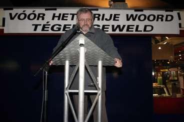 Henk Peters, directeur van het Trias college