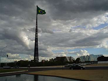 Het regeringscentrum in Brasilia