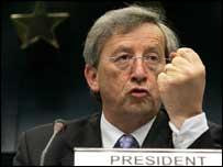 Voorzitter Jean Claude Juncker