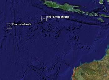Christmas en Cocos Islands