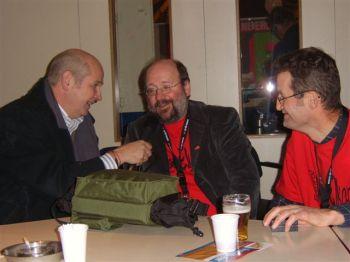In gesprek met Paul Geurts (m) en Ton Hagens