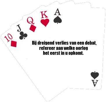 Speelkaarten van het kabinet
