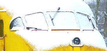 Sneeuwtrein