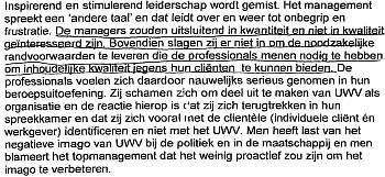 UWV Rapport