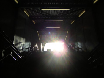 Zon op station Groningen