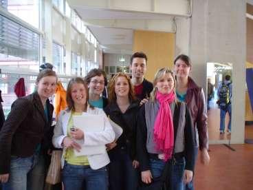 Op de Hogeschool Zeeland in Vlissingen